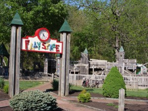 Playscape at Ellis Park in Danville, Indiana