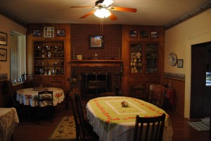The Breakfast Room at The Old MG