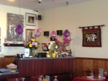 Thai Lanna offers a great traditional Thai atmosphere.