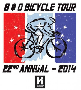 The 22nd annual B&O Bicycle Tour will take participants all through Hendricks County on June 7.