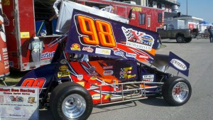 Xtreme Sprint cars like this one will be flying around Lucas Oil Raceway on June 29 for Must See Racing's Night of Speed.