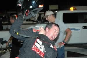Xtreme Sprint driver Brian Gerster won the inaugural Must See Racing event at Lucas Oil Raceway last year (photo courtesy of MustSeeRacing.com)