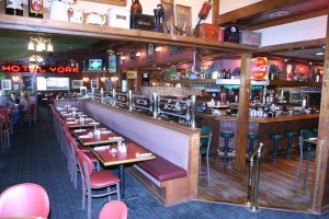 The Coachman Restaurant and Lounge has a fun, friendly atmosphere.