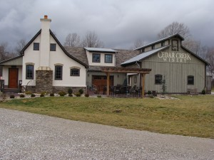 Cedar Creek Winery - 3820 Leonard Road - Martinsville