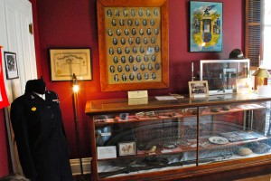 The War Room in the Hendricks County Historical Museum is full of fascinating pieces  used by people of the county in a variety of conflicts.