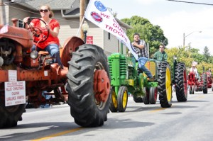 Hendricks County's largest parade features a great array of antique farm machinery and other fun entries.