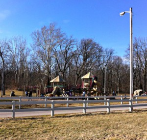 Kids will love the playground area at Arbuckle Acres.