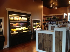 The Beehive offeres great local food product choices!