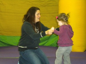 Jump N Play is a great way to burn off some of that toddler energy!
