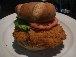 Pork Tenderloin sandwich... Indiana's sandwich!