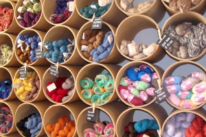 Learn to knit or crochet at Nomad Yarns.