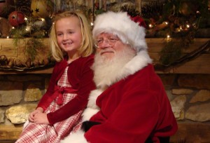 Santa Claus is coming to Hendricks County.