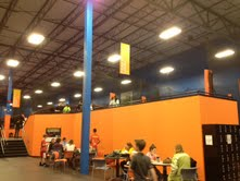 Sky Zone has a fun atmosphere for all!