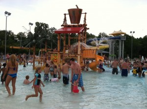 Enjoy Wet Wednesdays at Splash Island