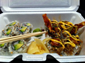 California Roll and Crunch Roll