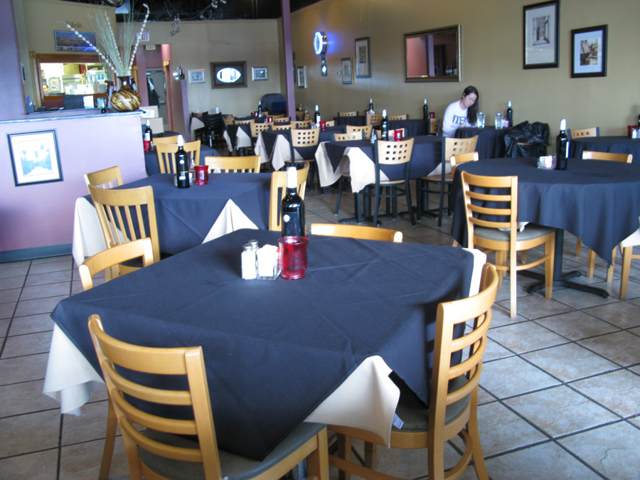 Mediterranean Grill's dining area