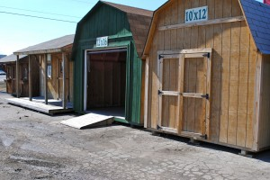 Old Bob's specializes in storage sheds and cottages like these.