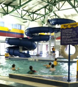The Two-Story Water Slide