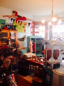 A combination of re-purposed items beside artisan work makes Reclamation a must-see shopping experience.