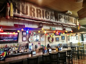 Hurricane's bar is smoke free and boasts plenty of TVs with sports.