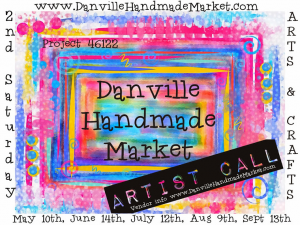 The Danville Handmade Market is coming to town on May 10!  (Artwork by Moon Stumpp.)