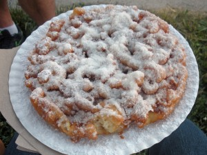 The Funnel Cake is one of the many excellent food options available this year!