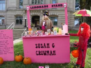 Scarecrow 2013 - lemonade stand
