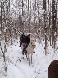 If you prepare for the cold, a winter horse ride at Natural Valley Ranch can be an amazing experience.