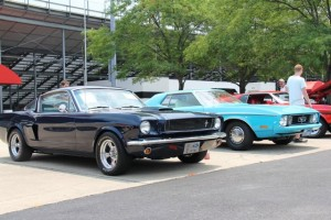 There will be Mustangs everywhere at Lucas Oil Raceway in Brownsburg!  (Photo courtesy of MCI Facebook page)