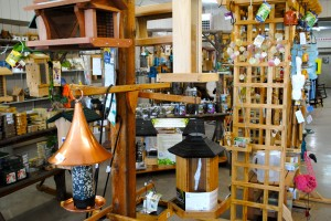 Old Bob's in Avon, Ind. has a huge selection of bird seed, feeders and houses.