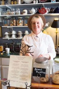 Tina Jesson of Tina's Traditional Old English Kitchen delivers a perfectly authentic afternoon tea experience.