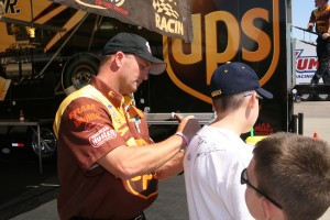 A ticket to U.S. Nationals is also a pit pass allowing every fan access to the drivers.