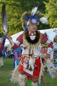 Head Dancer Nicky Belle from Bloomington, Ind. will be the Head Man for the 2014 Mid-Winter Pow Wow on Jan. 4. (Photo courtesy of the Tecumseh Lodge)