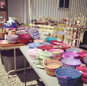 Handmade items at BFE