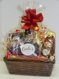 gift basket for blog