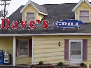Dave's Grill - 155 N. Dan Jones Rd. - Plainfield, Indiana