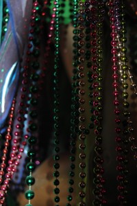 Beads are everywhere.