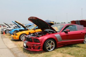 The Mustang Club of Indianapolis is hosting a huge Ford car show at Lucas Oil Raceway from Aug. 9-11.  (Photo courtesy of MCI Facebook page)