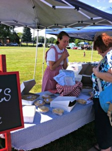 visit the farmers markets in Hendricks County- Brownsburg is one of my faves