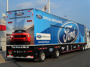"Ford enthusiasts will be able to stock up on all kinds of cool merchandise at the ""Race to Indy"" show."