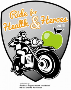 The Ride for Health & Heroes begins Sunday, Sept. 8 at 10 a.m. at the Hendricks County 4-H Fairgrounds in Danville.