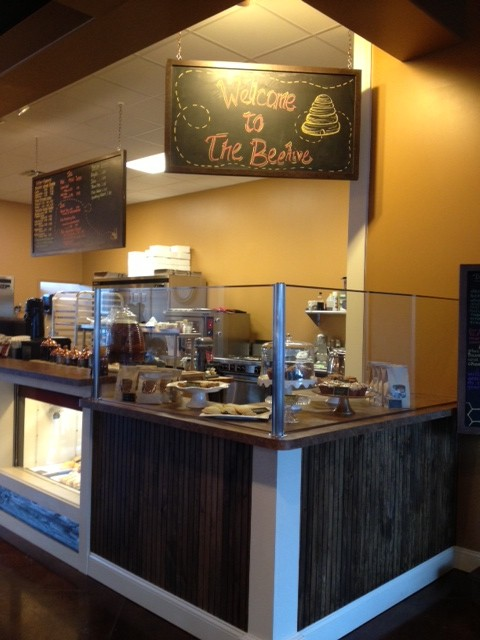 The Beehive in Danville is a great cafe/market located off right off of US 36 in the heart of town!
