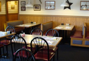 Dave's Grill has a relaxed atmosphere.