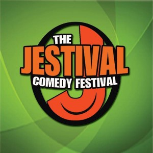 The Jestival is coming to the Royal Theater in Danville, Indiana!  (Logo courtesy of the Jestival Facebook page.)