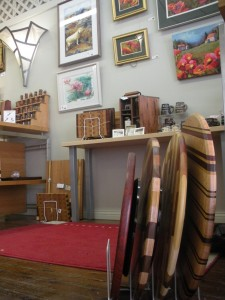 Gallery on the Square has a little bit of everything made by local master artisans.