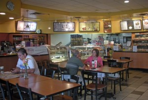 Get your day trip to Avon started right with a nice breakfast at Big Apple Bagels.