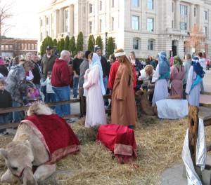 Christmas on the Square will include other activities as well including children's activities, strolling carolers, a lighting ceremony, a live nativity scene and more.