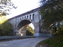 As one of the oldest landmarks in the county the Haunted Bridge in Avon is a great place for a spooky family history trip!