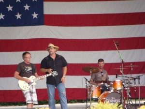 Cornfield Mafia performing at Hummel Park