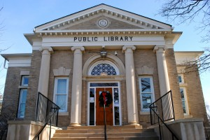 Danville's Carnegie Library, dedicated in 1903, still serves as the Danville Public Library.